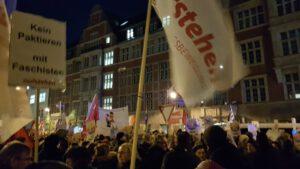 Aufstehen vor der FDP-Zentrale
