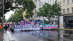 Aufstehen Berlin Demo