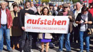 Aufstehen Kundgebung im Tempelhof