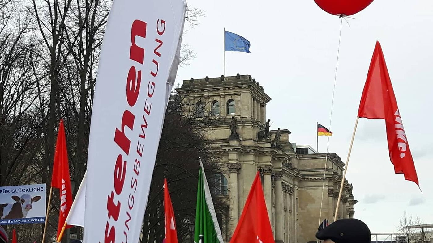 Wir haben es satt, Aufstehen Berlin