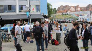 Aufstehen S-Bahn